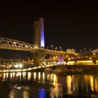La Penfeld et la Recouvrance lors des fêtes maritime de Brest 2016